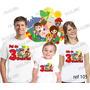 Kit Camiseta Sitio Do Pica Pau.. Aniversario Festa Kit Com 3