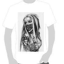 Camisetas Art Chicana 03- Escolha Sua Estampa Em Perguntas.