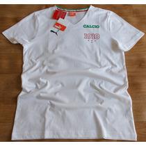 Camiseta Com Estampa E Cores Da Itália Puma - Original