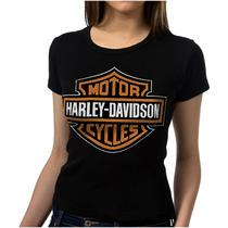 Camiseta Harley Davidson Feminina