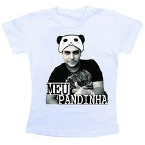 Camiseta Baby Look Feminina - Jorge E Mateus Meu Pandinha