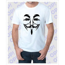 Camiseta Anonymous V De Vingança
