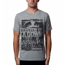 Camiseta Masculina Bandas Rock Metal System Of A Down Soad