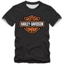 Camiseta Harley Davidson Motor Cycles - Camisa
