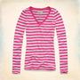 Camiseta Polo Blusa Hollister Abercrombie Feminina Original