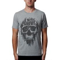 Camiseta A Skylit Drive Blusas Moletom Bandas Rock Caveira