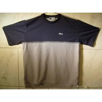 Camiseta Fila Tamanho Especial L Large = 3g 70cm X 60cm
