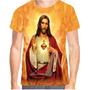 Camiseta Camisa Jesus 3d Religiosa Baby Look Maria Lindas