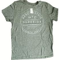 Camiseta Aeropostale Masculina/original, Não Aceite Réplicas