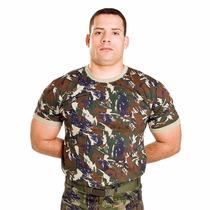 Camiseta Malha Camuflada Padrão Aeronáutica P Ao Gg