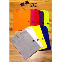 Camiseta Camisa Gola V M@rtt Várias Cores Moda Masculina