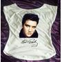 Camiseta Feminina Babylook Gola Canoa Elvis Presley 10