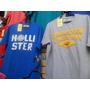 Kit C/10 Camisetas - Hollister - Abercrombie - Calvin Klein