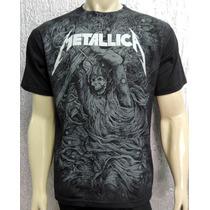 Camiseta Metallica - Modelo Premium