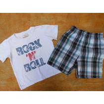 Lote Roupas Importadas Menino 2 Anos Shorts Jeans Camisetas
