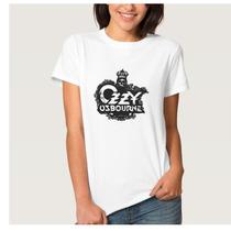 Camiseta Ozzy Osbourne (masculino E Feminino)