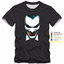 Camisa, Camiseta O Coringa The Dark Night 100% Algodão