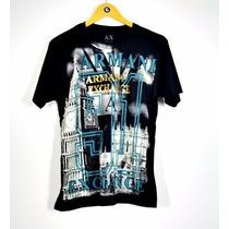 Camisetas Armani Exchange Importada Original