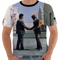 Camisa Camiseta Pink Floyd Wish You Were Here Color