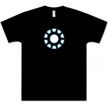 Camiseta Reator Homem De Ferro - Camisa Iron Man, Stark