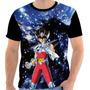 Camiseta - Camisa Cavaleiros Do Zodíaco Seya Pegasus