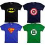 Camisa Games Camiseta Super Heróis Masculina Feminina Infant
