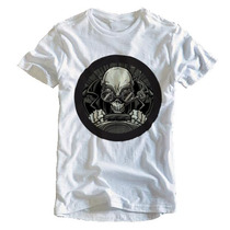 Camiseta Rock Masculina Caveira Carro Personalizada