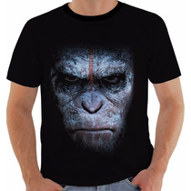Camiseta Planeta Dos Macacos: O Confronto - Movies - Ceasar