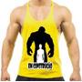 Camiseta Regata Super Cavada P/ Musculação Em Construção !!
