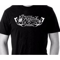 Camiseta Bullet For My Valentine - Camisa De Banda Rock