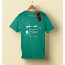 Camiseta Camisa Blusa Masculino Evangélica, Eu Estou A Porta