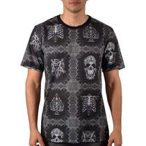 Camiseta Mcd Especial Dark Skulls Preta