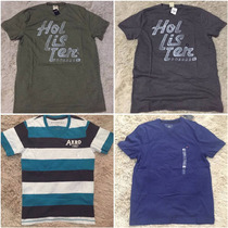 Lote 12 Camiseta Hollister Aeropostale E Tommy Atacado