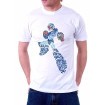 Camisa Camiseta Megaman Estilosa Pronta Entrega