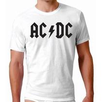 Camisa Banda De Rock Acdc Pantera Beatles Bon Jovi Hendrixpl