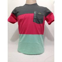 Camisa Lacoste Live Masculina 100% Original Made In Peru