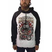 Casaco Blusa Frio Moletom Rock Metalcore Asking Alexandria
