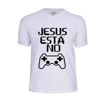 Camisas Camisetas Jesus Vivo Evangélica Oração Gospel Cristo