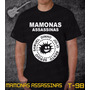 Camisetas Mamonas Assassinas Rock Roll Bandas Preta