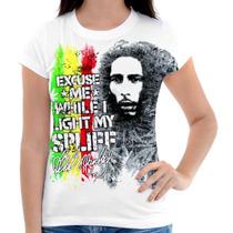 Camisa, Camiseta Feminina E Masculina - Bob Marley Reggae