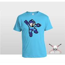 Camiseta Megaman - 8 Bits