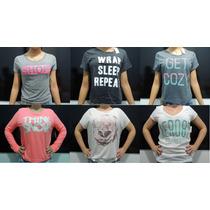 Camisas Blusinha Femininas Hollister Aeropostale Original