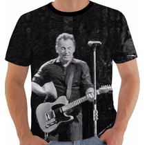 Camisa Camiseta Baby Look Regata Bruce Springsteen