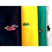 Camisetas Bordas Malha 100% Algodão Tamanho Especial G1 G2 3