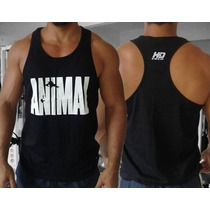 Kit Com 6x Camisetas Regatas Nadador Animal P/ Academia Top