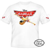 Camisa Camiseta Blusa Personalizada Aviões Disney Planes