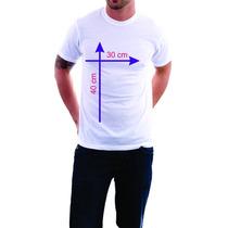 8 Camisetas Personalizadas Logo Para Empresa Frente/verso A3
