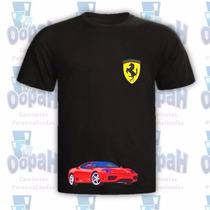 Camisetas Personalizadas Ferrari Promoção Frete Grátis