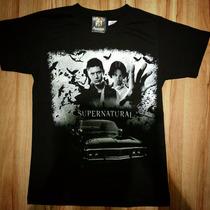 Camiseta Supernatural - Dean E Sam - Rocketees