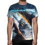 Camisa, Camiseta Metal Gear Solid Rising Revengeance Mod 02